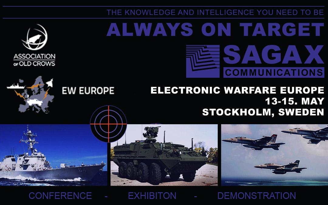 Sagax Communications at Electronic Warfare Europe