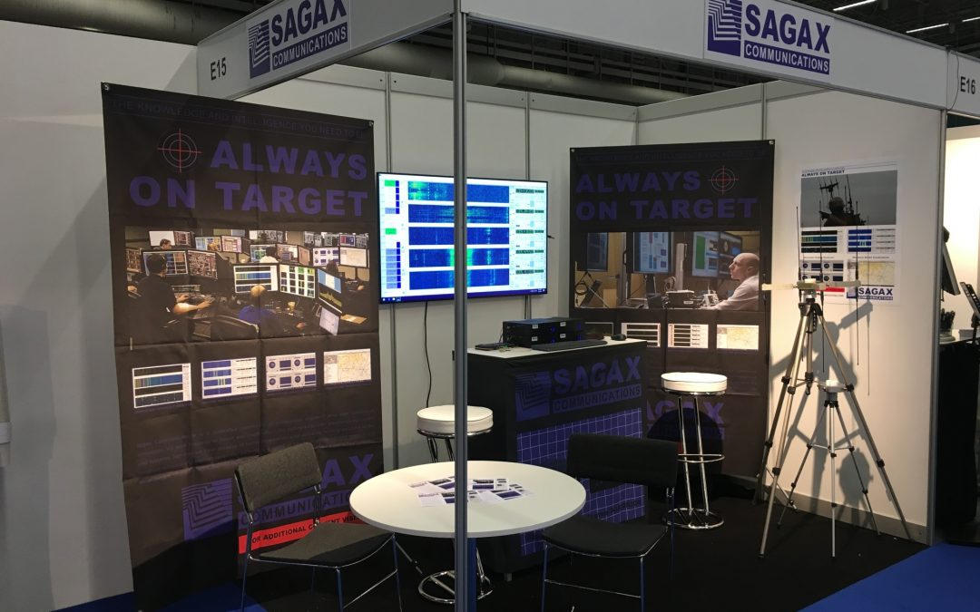 Sagax Communications is up and running at EW Europe