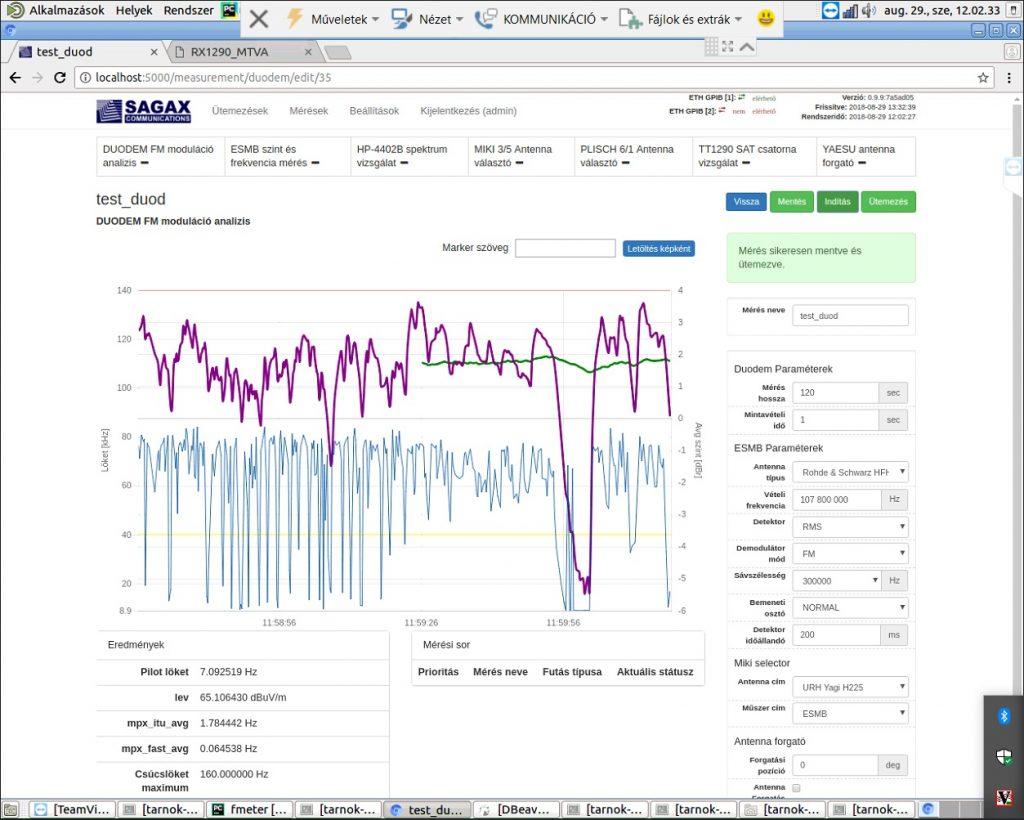 FMeter ITU compliant spectrum monitoring system